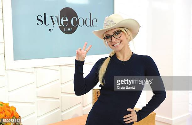 Hayden Panettiere appears on Amazon's Style Code Live on January 4 2017 in New York City