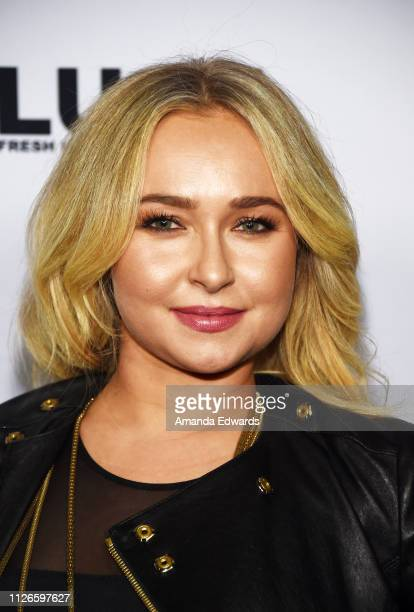 Hayden Panettiere arrives at a screening of Freestyle Releasing's Sharkwater Extinction at the ArcLight Hollywood on January 31 2019 in Hollywood...