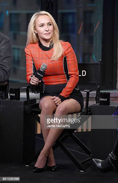 Hayden Panettiere attends Build Presents Charles Esten Hayden Panettiere Discussing 'Nashville' at AOL HQ on January 5 2017 in New York City