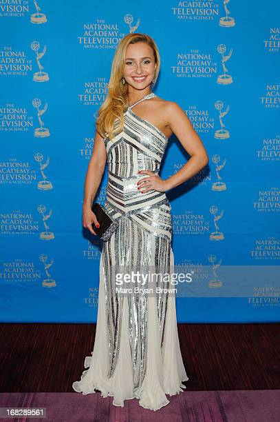 Hayden Panettiere attends the 34th Annual Sports Emmy Awards at Frederick P Rose Hall Jazz at Lincoln Center on May 7 2013 in New York City