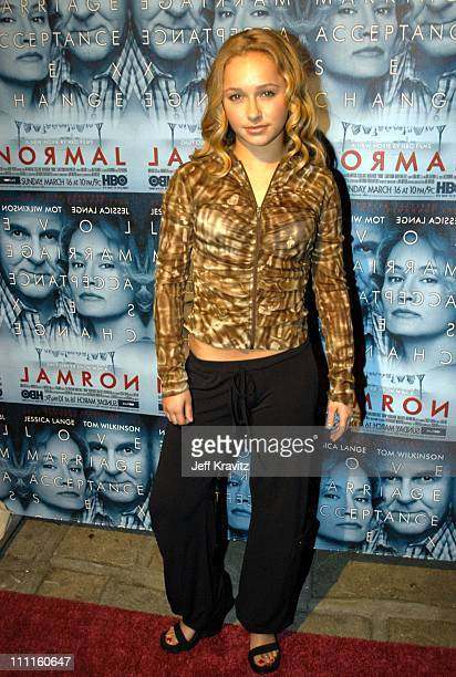 Hayden Panettiere during HBO Premiere of Normal Arrivals Party at Geffen Playhouse in Los Angeles CA United States