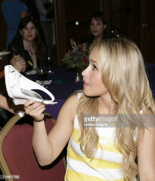 """Hayden Panettiere during The Academy of Television Arts and Sciences Presents An Evening with """"Heroes"""" - VIP Reception at Leonard H. Goldenson..."""
