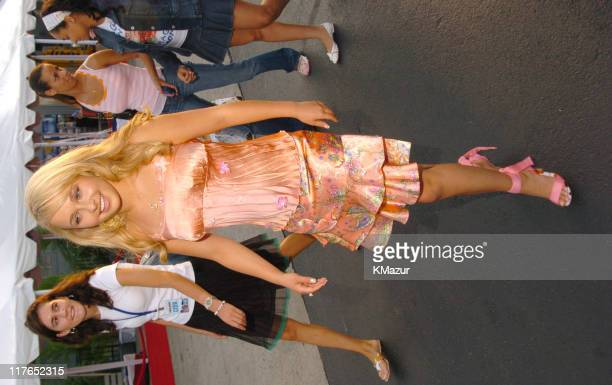 """Hayden Panettiere during the New York Premiere of """"Tiger Cruise"""" at the Intrepid Sea-Air-Space Museum on August 3, 2004. """"Tiger Cruise"""" premieres..."""