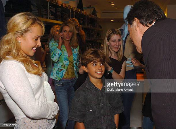 Hayden Panettiere Lesley Vogel Jansen Panettiere and Peter Korah CEO of 7 Jeans