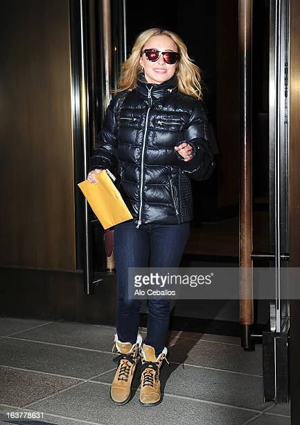Hayden Panettiere sighting on March 15 2013 in New York City