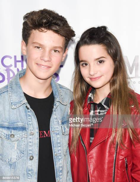 Hayden Summerall and Annie Leblanc attend School Spirits Premiere on October 6 2017 in Beverly Hills California