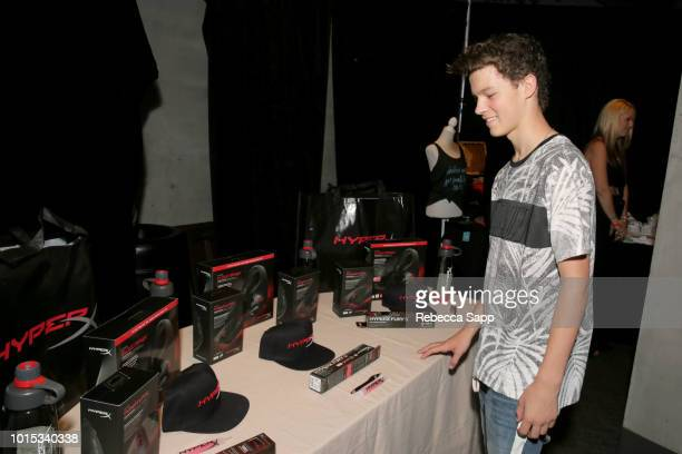 Hayden Summerall at Backstage Creations Celebrity Retreat At Teen Choice 2018 Day 1 at The Forum on August 11 2018 in Inglewood California