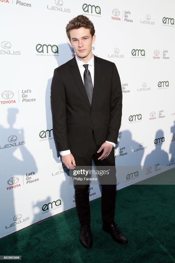 Hayden Summerall at the Environmental Media Association's 27th Annual EMA Awards at Barkar Hangar on September 23, 2017 in Santa Monica, California.