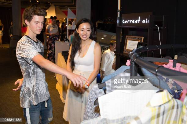 Hayden Summerall attends Backstage Creations Celebrity Retreat At Teen Choice 2018 Day 1 at The Forum on August 11 2018 in Inglewood California