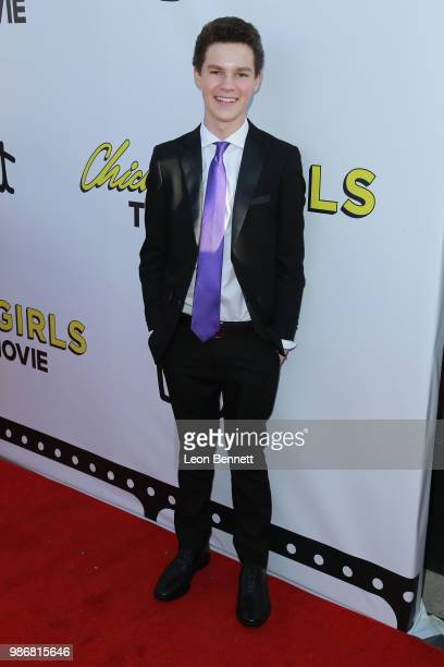 Hayden Summerall attends GenZ Studio Brat's Premiere Of 'Chicken Girls' at Ahrya Fine Arts Theater on June 28 2018 in Beverly Hills California