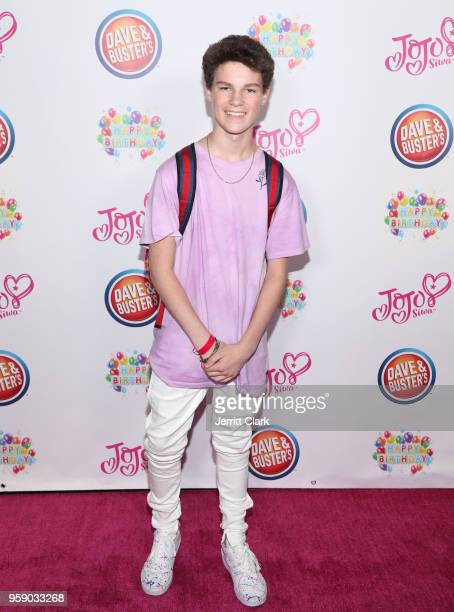 Hayden Summerall attends JoJo Siwa's 15th Birthday Party at Dave Busters on May 15 2018 in Hollywood California