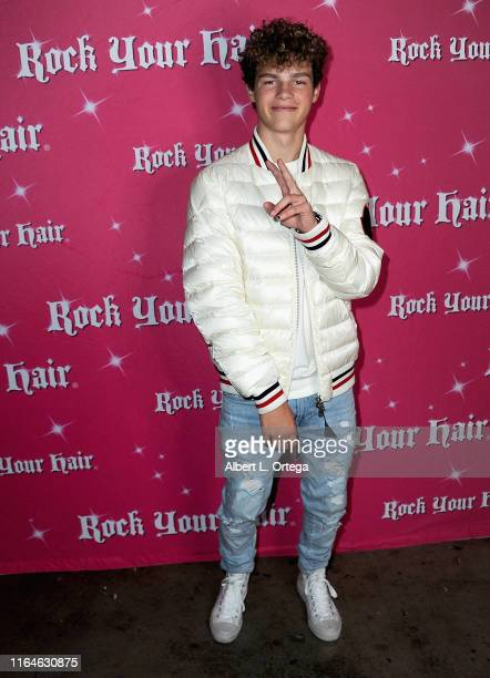 Hayden Summerall attends the Rock Your Hair Presents Movie Night Screening Of Grease held at Rock Your Hair Studio on August 28 2019 in Burbank...