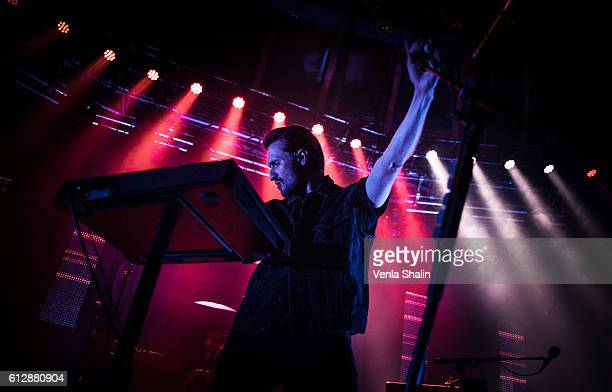 Hayden Thorpe of the Wild Beasts performs at The Roundhouse on October 4 2016 in London England