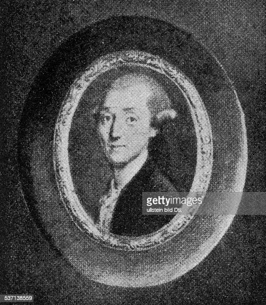 Haydn Joseph Komponist AT Bildnis nach einem englischen Miniaturportrait undatiert