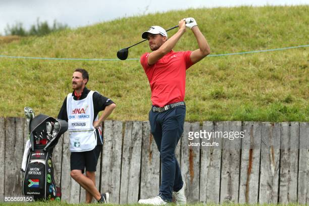 Haydn Porteous of South Africa during the HNA Open de France part of the PGA European Tour at Le Golf National golf course on July 2 2017 in...