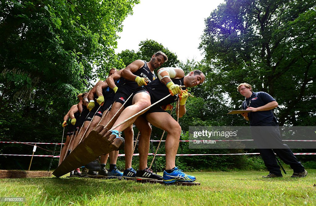 Exeter Chiefs Team Building
