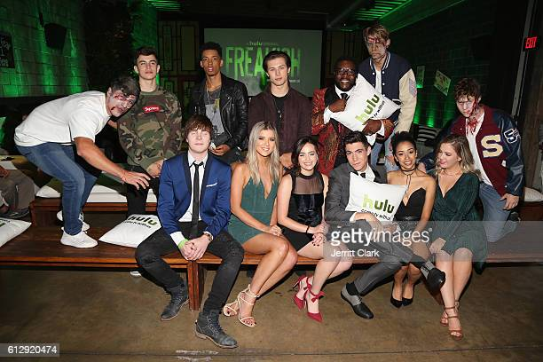 Hayes Grier Melvin Gregg Leo Howard Chad L Coleman Adam Hicks Meghan Rienks Mary Mouser Tyler Chase Liza Koshy and Aislinn Paul attend the Premiere...
