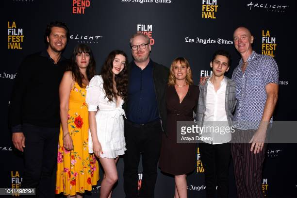 Hayes MacArthur Amanda Marshall Isabelle Phillips Jim Gaffigan Miranda Bailey Daniel Rashid and Craig Richey attend the screening of 'You Can Choose...