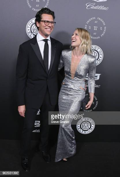 Hayes MacArthur and Ali Larter attend The Art Of Elysium's 11th Annual Celebration on January 6 2018 in Santa Monica California