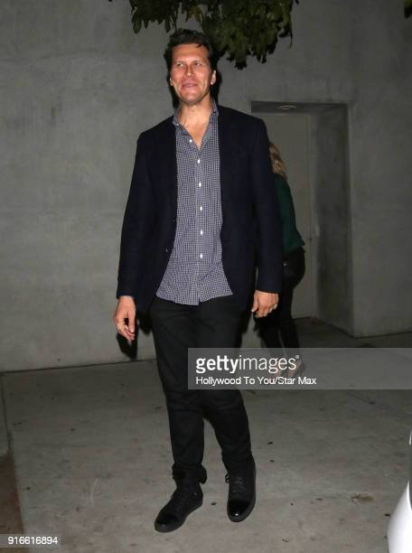 Hayes MacArthur is seen on February 9 2018 in Los Angeles California