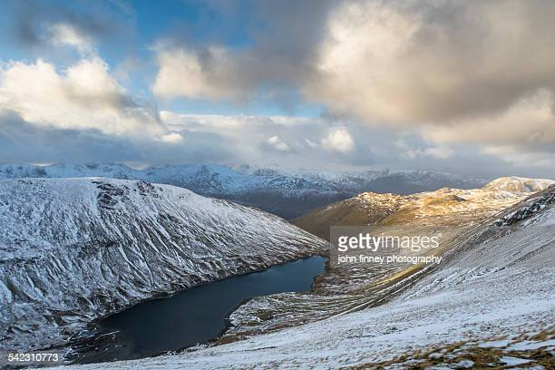 hayeswater from highstreet, cumbria - whitehaven cumbria stock pictures, royalty-free photos & images