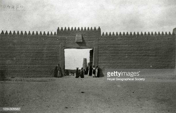 Hayil South Gate Saudi Arabia circa 1934