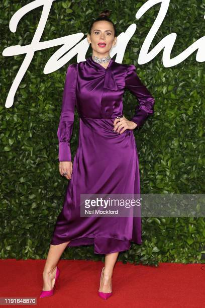 Hayley Atwell arrives at The Fashion Awards 2019 held at Royal Albert Hall on December 02 2019 in London England