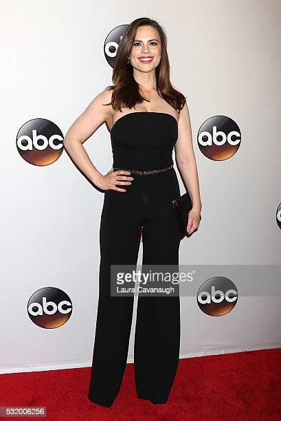 Hayley Atwell attends 2016 ABC Upfront at David Geffen Hall on May 17 2016 in New York City