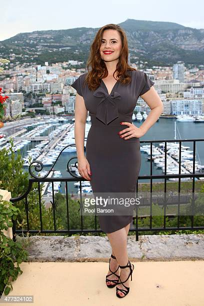 Hayley Atwell attends Cocktail Reception at the Ministere d'Etat on June 15 2015 in MonteCarlo Monaco