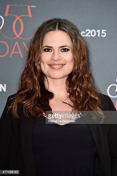 Hayley Atwell attends the 55th Monte Carlo Beach anniversary as part of the 55th Monte Carlo TV Festival Day 4 on June 16 2015 in MonteCarlo Monaco