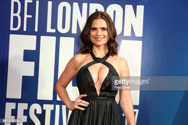 Hayley Atwell attends the 61st BFI London Film Festival Awards on October 14 2017 in London England