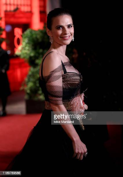 Hayley Atwell attends the 65th Evening Standard Theatre Awards at the London Coliseum on November 24 2019 in London England