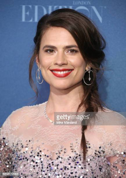 Hayley Atwell attends the British Independent Film Awards held at Old Billingsgate on December 10 2017 in London England