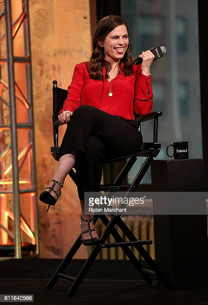 Hayley Atwell attends The Build Series Presents Hayley Atwell Discussing The New Show Conviction at AOL HQ on September 30 2016 in New York City
