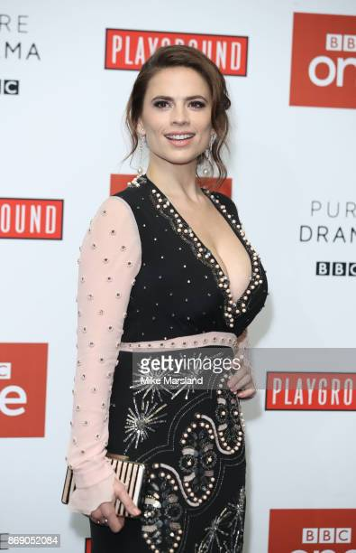Hayley Atwell attends the 'Howards End' photocall at BFI Southbank on November 1 2017 in London England