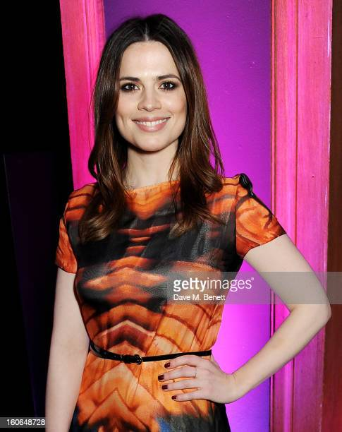 Hayley Atwell attends the London Evening Standard British Film Awards supported by Moet Chandon and Chopard at the London Film Museum on February 4...