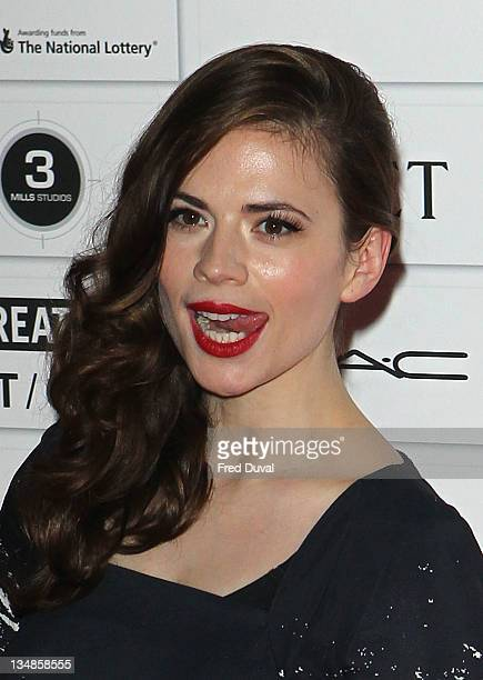 Hayley Atwell attends The Moet British Independent Film Awards at Old Billingsgate Market on December 4 2011 in London England