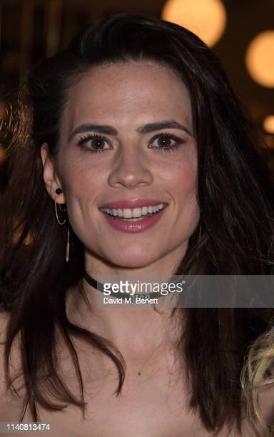 Hayley Atwell attends the press night after party for Rosmersholm at Browns on May 2 2019 in London England