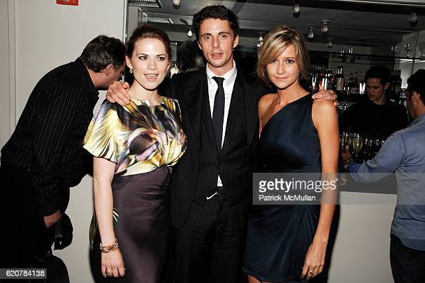 "Hayley Atwell, Matthew Goode and Sophie Dymoke attend THE CINEMA SOCIETY & VICTORINOX host the after party for ""BRIDESHEAD REVISITED"" at Gramercy..."