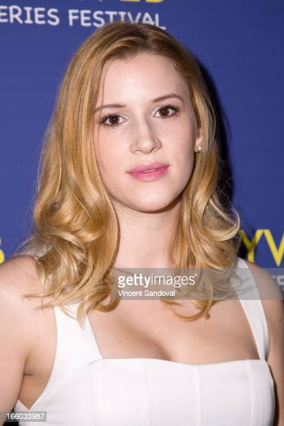 Hayley Derryberry attends the 2nd annual HollyWeb Festival at Avalon on April 7 2013 in Hollywood California