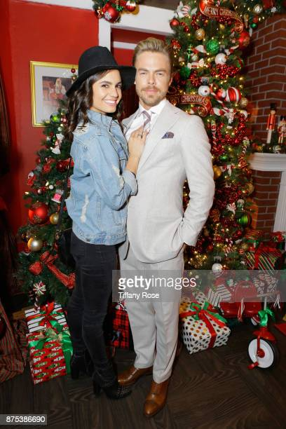 Hayley Erbert and Derek Hough at Derek Hough Hosts The Americana at Brand Tree Lighting Presented By BMW on November 16 in Glendale California on...