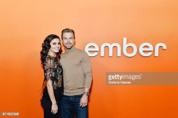 Hayley Erbert and Derek Hough attends Ember celebrates VIP launch event with Iggy Azalea on November 8 2017 in Los Angeles California