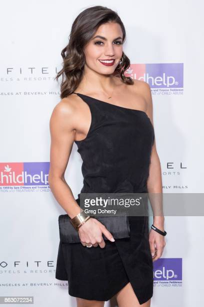 Hayley Erbert arrives for the Childhelp Hosts An Evening Celebrating Hollywood Heroes at Riviera 31 on October 18 2017 in Beverly Hills California