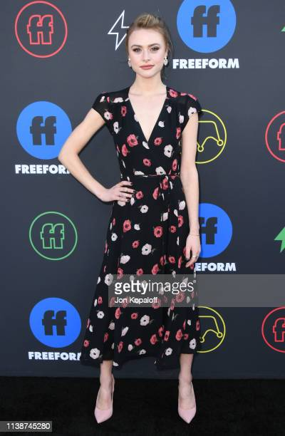 Hayley Erin attends 2nd Annual Freeform Summit at Goya Studios on March 27 2019 in Los Angeles California