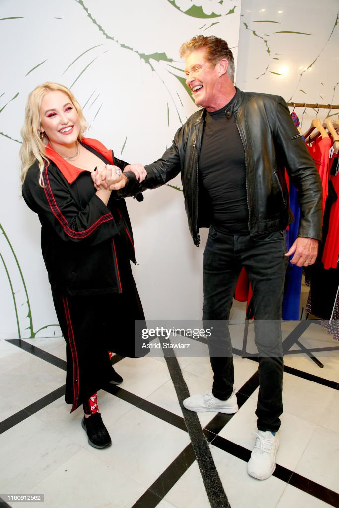 GYM Capsule Collection Hosted By Hayley Hasselhoff : News Photo