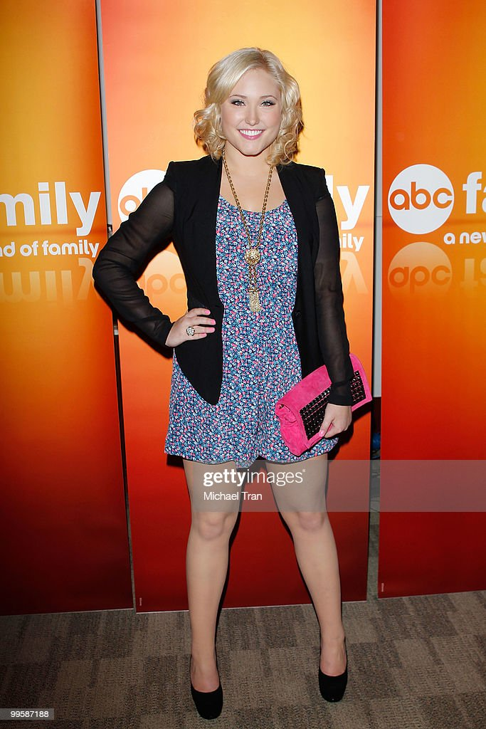 Hayley Hasselhoff arrives to the Disney/ABC Television Group press junket held at the ABC Television Network Building on May 15, 2010 in Burbank, California.