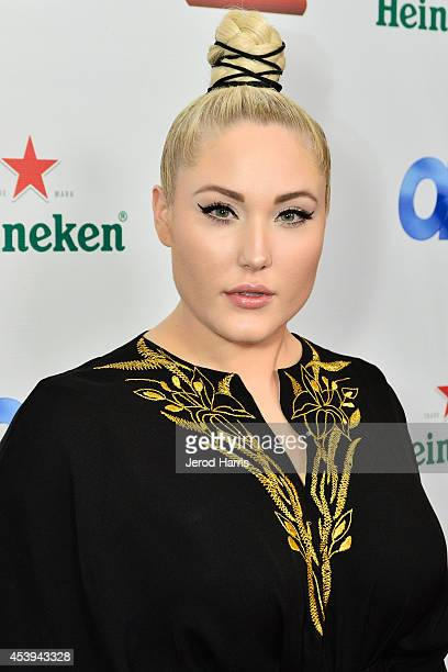 Hayley Hasselhoff attends OK TV Awards Party at Sofitel Hotel on August 21 2014 in Los Angeles California