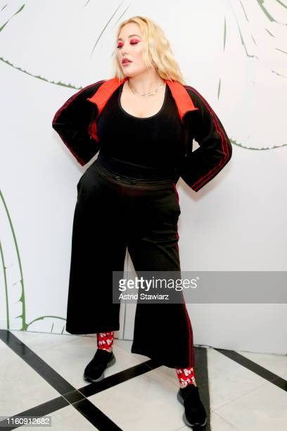 Hayley Hasselhoff attends the GYM Capsule Collection at Marina Rinaldi Boutique on July 08 2019 in New York City