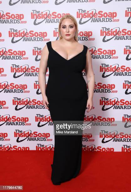 Hayley Hasselhoff attends the Inside Soap Awards at Sway on October 07 2019 in London England