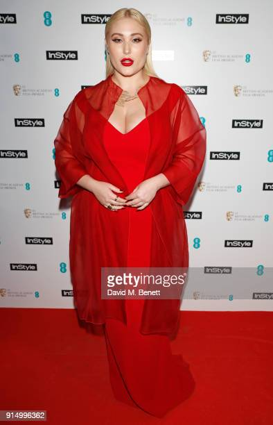 Hayley Hasselhoff attends the InStyle EE Rising Star Party at Granary Square on February 6 2018 in London England
